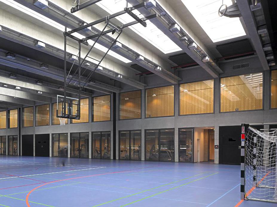 Neubau Sporthalle Rehazentrum Luxembourg Kirchberg