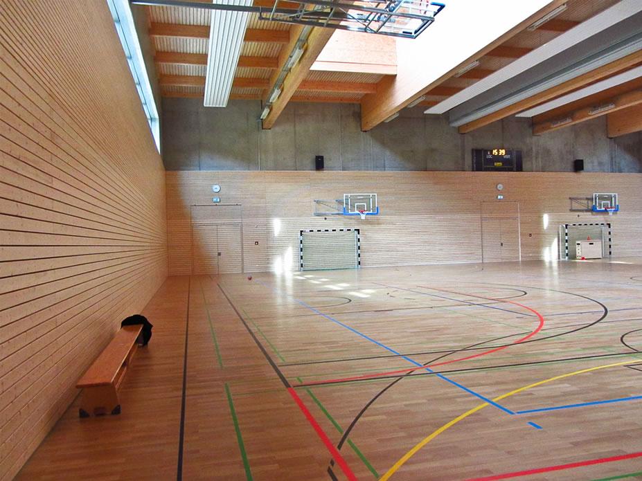 Sporthalle Innenausbau Mersch Luxembourg